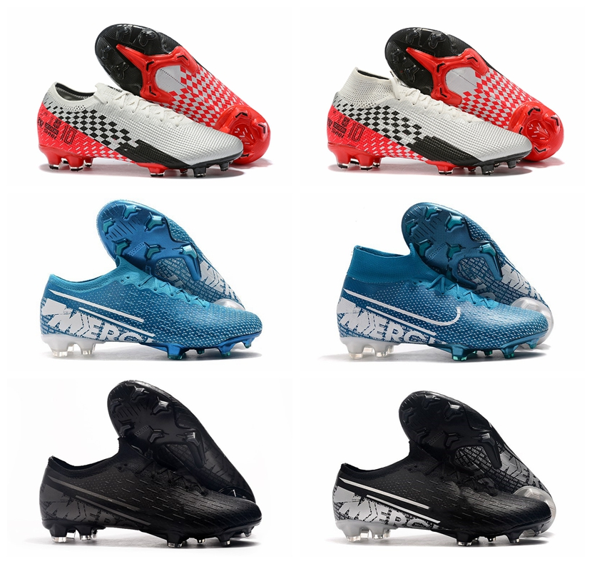 Soccer-Shoes Vapors Football-Boots CR7 Mercurial FG Outdoor Superfly-36 Mens Elite XIII