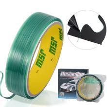 50m knifeless corte design linha fita filme adesivo rodo envoltório ferramenta flexível m2ed