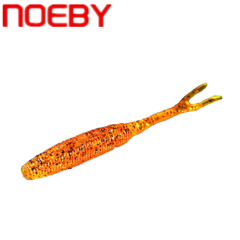 NOEBY Soft Fishing Lure 75mm 100mm 125mm Silicone Bait Soft Lure Isca Artificial Para Pesca Leurre Peche Carp Fishing Tackle