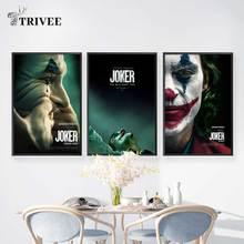 Джокер, настенная живопись на холсте, настенные принты, картины из фильма Чаплин,, Джокер, Хоакин для учебы, домашний декор, водонепроницаемый