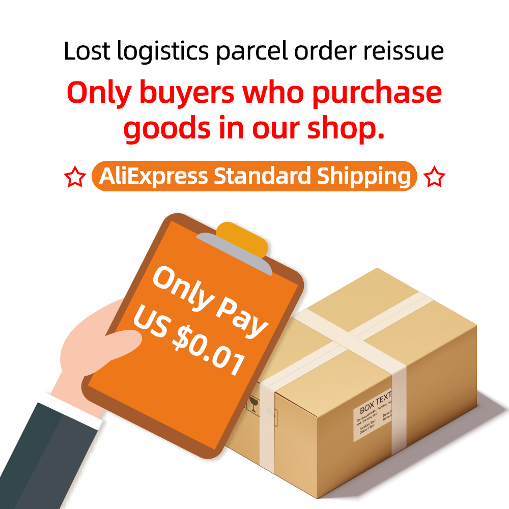 Lost logistics parcel order reissue,Only buyers who purchase goods in our shop.Please Contact Us Before Buying