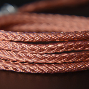 Image 2 - NICEHCK C16 3 16 Cores High Purity Copper Cable 3.5/2.5/4.4mm Plug MMCX/2Pin/QDC/NX7 Pin For C12 ZSX ZAX TFZ BL 03 NX7 MK3 LZ A7