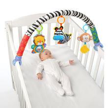 Музыкальный мобильный телефон для детской кроватки плюшевые