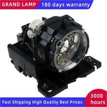 Высокая яркость DT00871/CPX807LAMP совместимая лампа с корпусом для HITACHI HCP 7100X HCP 8000X HCP 7600X CP X615