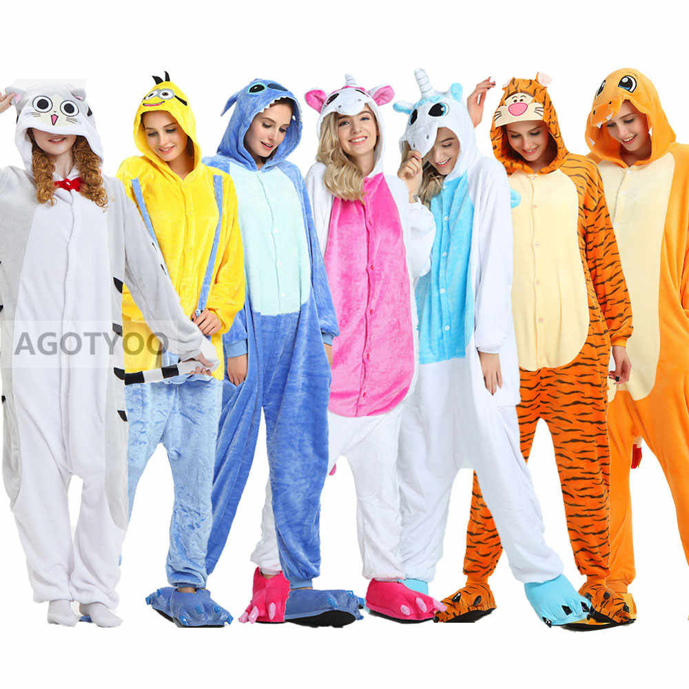2020 кигуруми, животные, единорог, костюм для взрослых, единорог, комбинезоны, фланелевые стежки, костюмы для женщин, аниме-комбинезон, маскировка, цельный костюм
