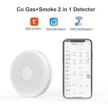 Home Security 85dB Warning High Sensitive LCD LED CO Gas Sensor Carbon Monoxide Poisoning Alarm Detector Tuya WIFI