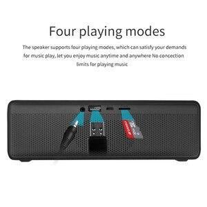 Image 4 - NBY 5520 Loa Bluetooth Bass Sâu Không Dây Có Mic 10W Âm Thanh 3D Nhạc Stereo Surround Cho điện Thoại