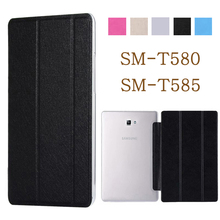 Tablet case for funda Samsung Galaxy Tab A 10.1 2016 case SM-T580 SM-T585 T580 PU leather flip cover stand case protective shell cowboy pattern case for samsung galaxy tab a a6 10 1 2016 t580 t585 sm t580 t580n case cover funda tablet stand protective shell