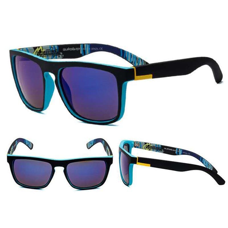 WENSY MenS And WomenS Sunglasses Irregular Shape Glasses Brand Design Light Outdoor Sports Fishing Glasses