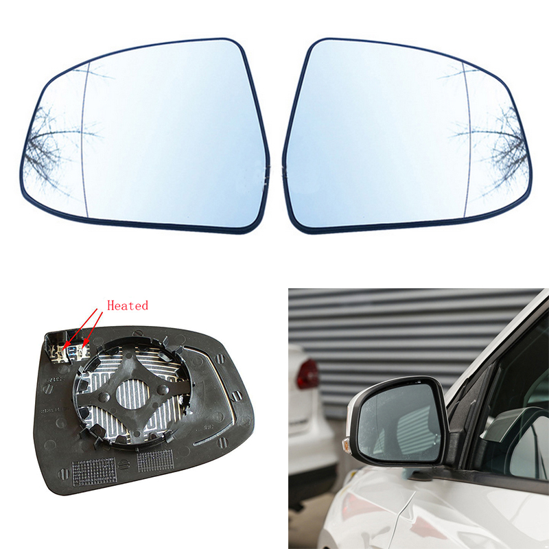 For Ford Focus 2012-2014 Rearview Mirror Glass Heated Right Side