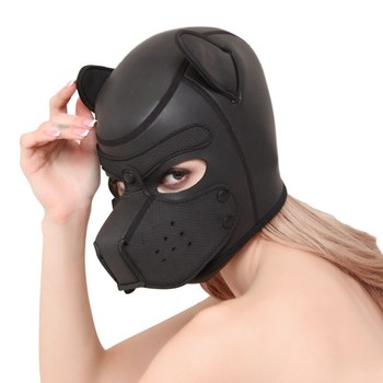 Gesichtsmaske BDSM Hund Sklave Frauen / Männer 1