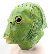 Рождественский костюм для вечеринки забавная маска в виде рыбы