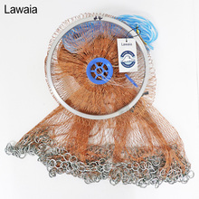Lawaia Casting Net Falling Hand Throwing Net Fishing Nets Diamter 2.4M-4.2M High Quality Sports Korean Hand Throw Fishing Net lawaia casting net falling hand throwing net fishing nets diamter 2 4m 4 2m high quality sports korean hand throw fishing net