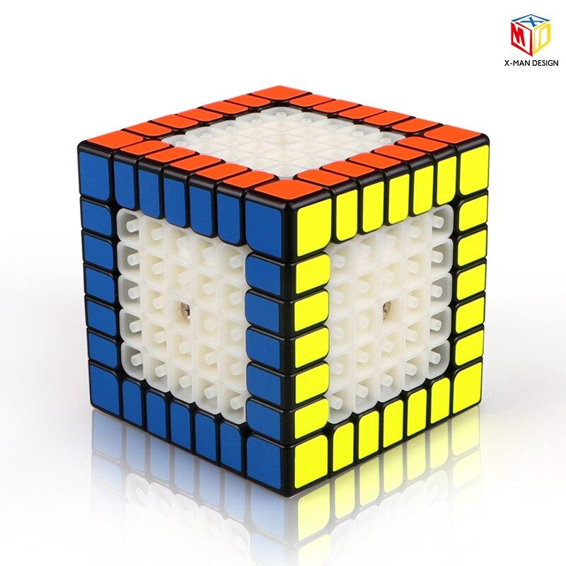XMD X-MAN conception étincelle M 7x7 Cube magnétique QIYI Mofangge professionnel vitesse magique Cubes Magico Cubo Puzzle Cube