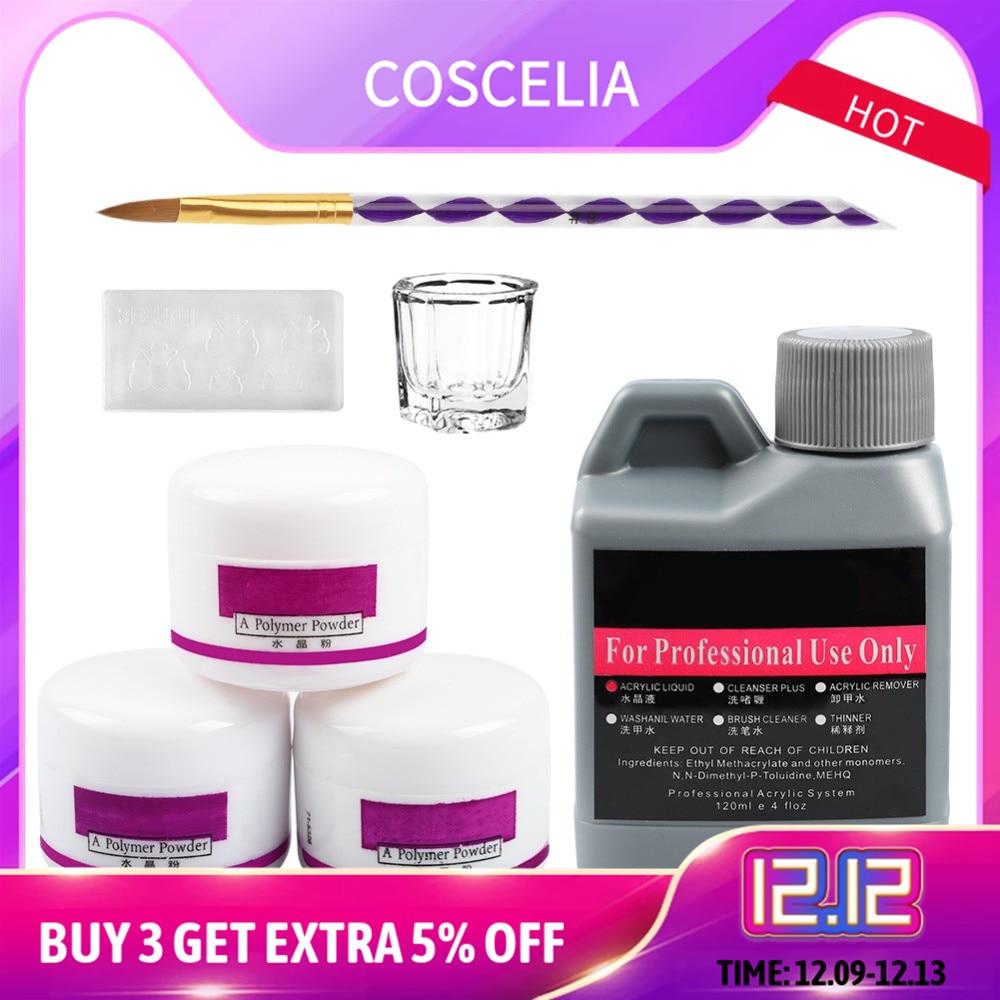Manicure Set Acrylic Nail Kit Nail Art Tools Kit Set For Nail Set Of Tools Crystal Powder Acrylic Nail Brush