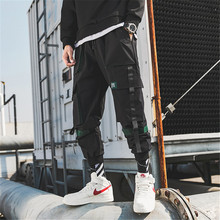 Wayelle Mens Overalls Casual Pants TOP Autumn XXL Japanese Style Multiple Pocket Youth Hong Kong Handsome Trousers