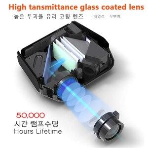Image 4 - AUN ET10 Series MiNi LED Projectorสำหรับ 3D Video Beamer. 1280X720P, 3800 ลูเมน,สนับสนุน 1080P, HD IN (อุปกรณ์เสริมAndroid 6.0)