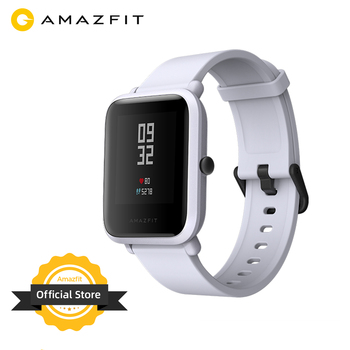 [Ship from Russia] Global Version Amazfit Bip Bluetooth GPS Sport Heart Rate Monitor IP68 Call Reminder APP Notifications