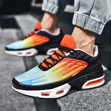 Male Sneakers 2020 Men's Sports Training Air Cushion Mesh Breathable Shoes Non-Slip Outdoor Running Shoes Casual Footwear Men