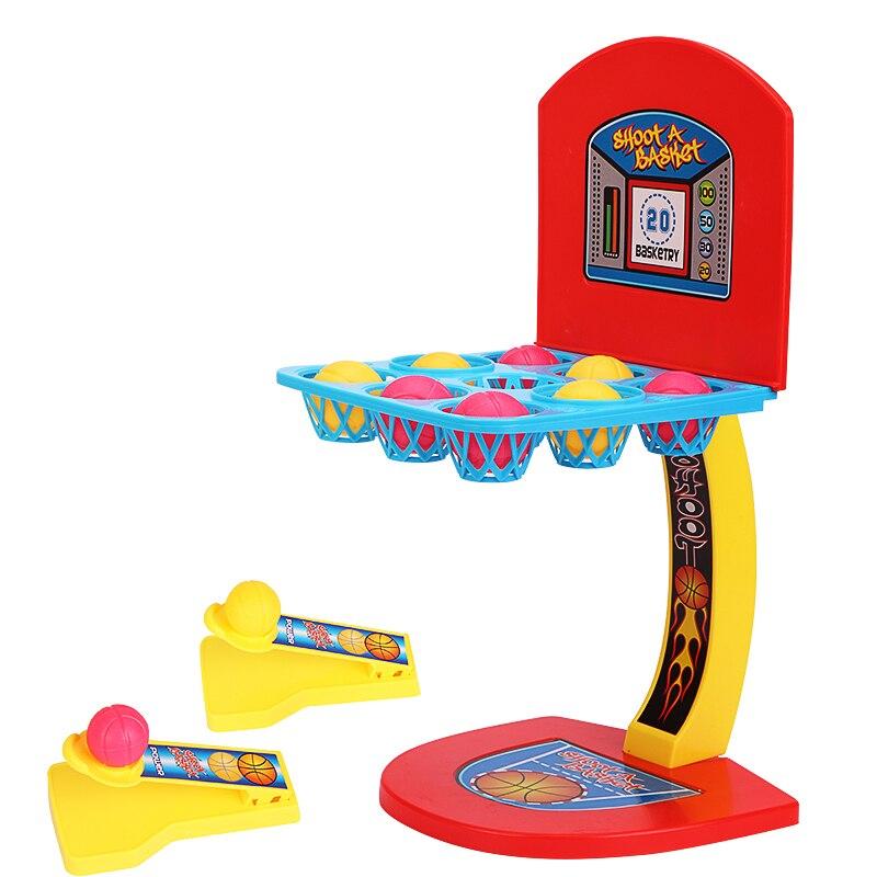 מיני כדורסל חישוק ירי Stand צעצוע ילדים חינוכיים לילדים משפחת משחק צעצוע ספורט 2 נגן משחק ילדים צעצועי לוח משחק