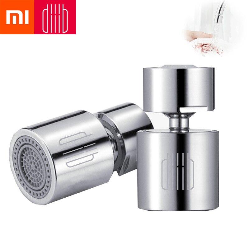 Xiaomi diiib torneira da cozinha aerador torneira de água bico bubbler filtro de poupança de água de 360 graus dupla função 2-fluxo à prova de respingo