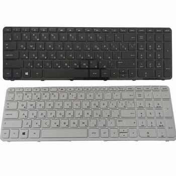 Rosyjski laptop klawiatura do HP 250 G2 G3 255 G2 G3 256 G2 G3 15-E 15-N 15T 15E 15N 15N017AX 15-F 15E029TX E066TX RU nowy tanie i dobre opinie GZEELE Hp compaq Russian Standard black