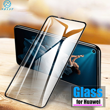 9D Tempered Glass Full Glue for HUAWEI Honor 9X Pro 10 Lite 8X 8S 8C 8A Glass Screen Protector for Honor 10 Lite 20i 10i Glass 2 in 1 full cover 9d tempered glass for huawei honor 9x 9x pro 8x 8a 8c 8s v20 v30 10 20 10i 20i 10 20 lite screen protector