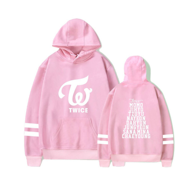 TWICE THEMED STRIPED HOODIE (6 VARIAN)