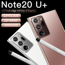 Globale Version Galxy Note20U + Smartphone 12GB 512GB 6,9 Zoll 5000mAh Android 10,0 Snapdragon 865 handy 4G5G Note20 handys