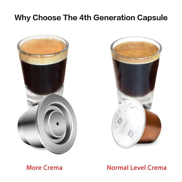 Capsules à café pour Nespresso réutilisable 2