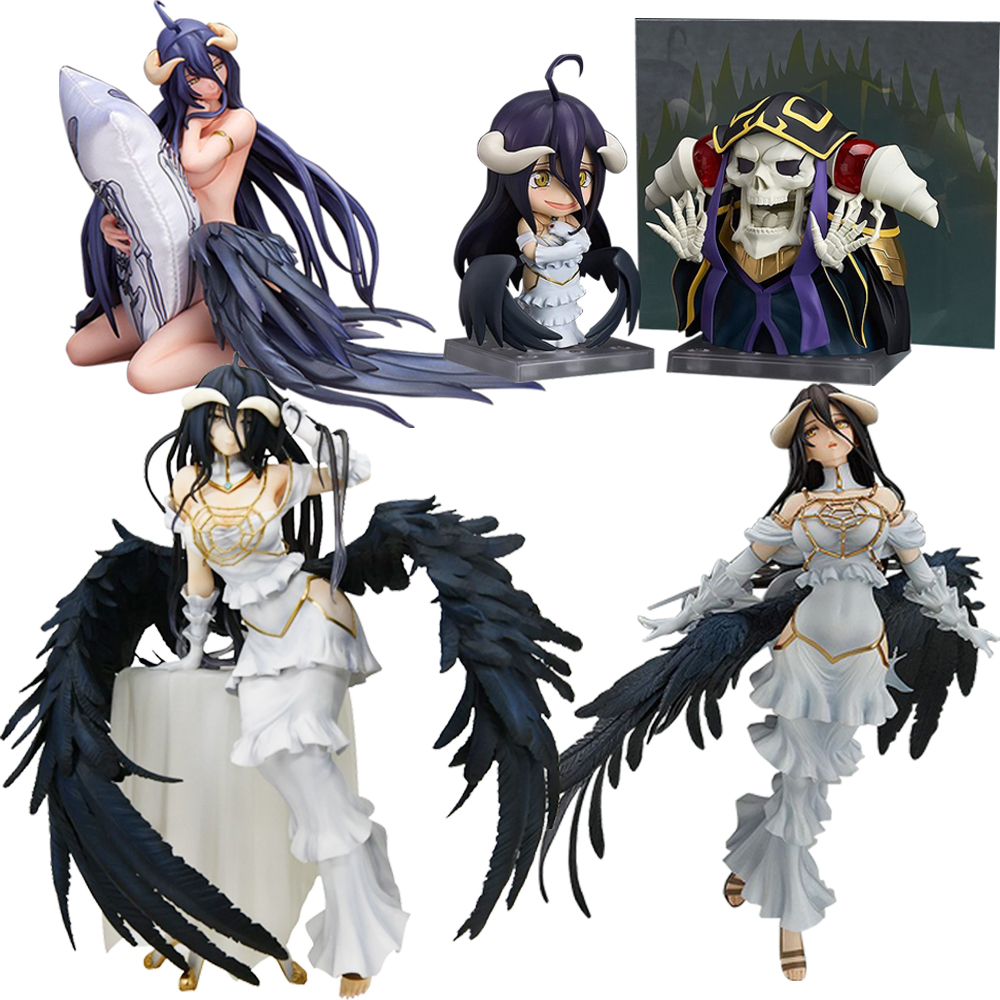 25cm Albedo Sexy Girls Action Figure Japanese Anime PVC Adult Action Figures Toys Anime Figures Toy For Kids Children Christmas