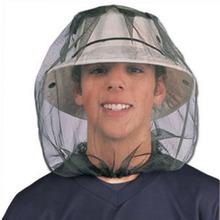 Midge Bug Camping Protector kapelusz twarz Mesh moskitiera owad gorąca podróż moskitiera tanie tanio Jednodrzwiowe Uniwersalny circular Domu Podróży Military CFM214 Dorosłych Wisiał dome moskitiera Owadobójczy traktowane