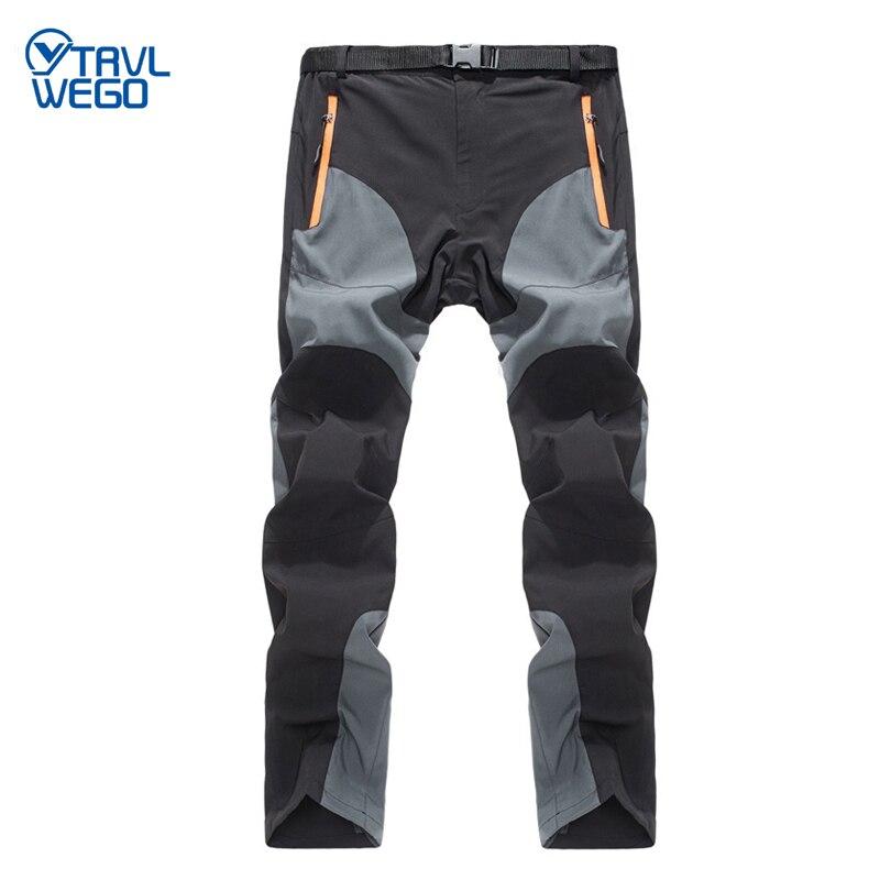 Мужские походные брюки TRVLWEGO, походные спортивные брюки для активного отдыха, летние быстросохнущие дышащие брюки для путешествий