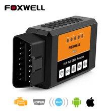 OBD2 WIFI Scan-Tool ODB2 ELM327 Foxwell Fw601 iPhone 327-V1.5 Universal OBDII for IOS