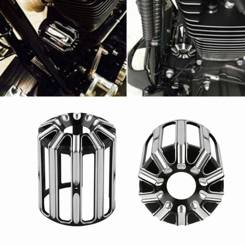 Motorcycle Oil Filter Cover Oil Grid For <font><b>Harley</b></font> Touring Sportster XL <font><b>883</b></font> 1200 <font><b>Iron</b></font> Softail Road King Dyna Electra Street Glide image