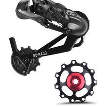 Bicycle MTB Mountain bike road bike 2*11T aluminum Jockey Wheel Rear Derailleur Pulley metal bearing guide pulley bearing цена 2017