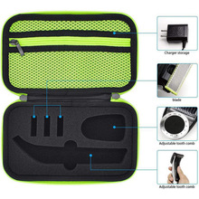 Beard Clipper Storage Bag Hard Case Protective Cover for Philips OneBlade Pro QP6520 QP6510 For Philips QP6620/30 Accessories