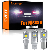 Zoomsee 2Pcs LED retromarcia bianco per Nissan Qashqai J10 J11 2007-2021 Canbus Backup esterno lampadina posteriore Kit lampada veicolo