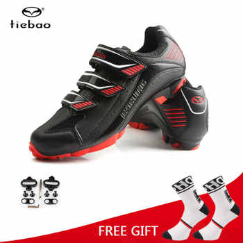 Tiebao MTB Bike Shoes Men Cycling Self-Lock Shoes Skidproof Sapatilha Ciclismo Shoes Triathlon Bicycle Racing Sneakers - DISCOUNT ITEM  40% OFF Sports & Entertainment