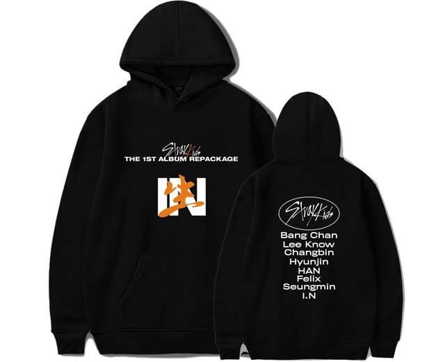 STRAY KIDS THE 1ST ALBUM IN BIRTH THEMED HOODIE (6 VARIAN)