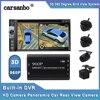 Système de vision panoramique, à 360 degrés, avec 4 caméras de recul DVR pour voiture, enregistrement pour stationnement, système universel de vision latérale