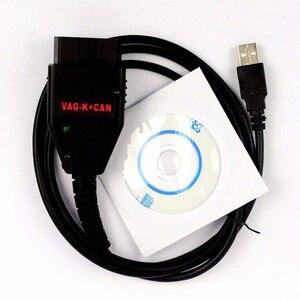 Автомобильные аксессуары VAG-K + CAN Commander 1,4 Obd2 сканер OBDII автоматический диагностический сканер инструмент COM Кабель для VW Audi FR2