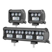 "4"" 7"" 5D LED Light Bar Off Road Tractor Truck SUV 4WD 4x4 ATV 30W 60W Spot LED Work Light Car Driving Fog Lamp"