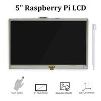 5 Inch Touch Screen Raspberry Pi 4 Display LCD HDMI Monitor 800x480 for Raspberry Pi 3 Model B+