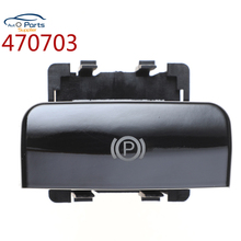 470703 Bright Surface Electronic Handbrake Parking Brake Button Switch For Peugeot 5008 308 3008 CC SW DS5 DS6 470702 470706