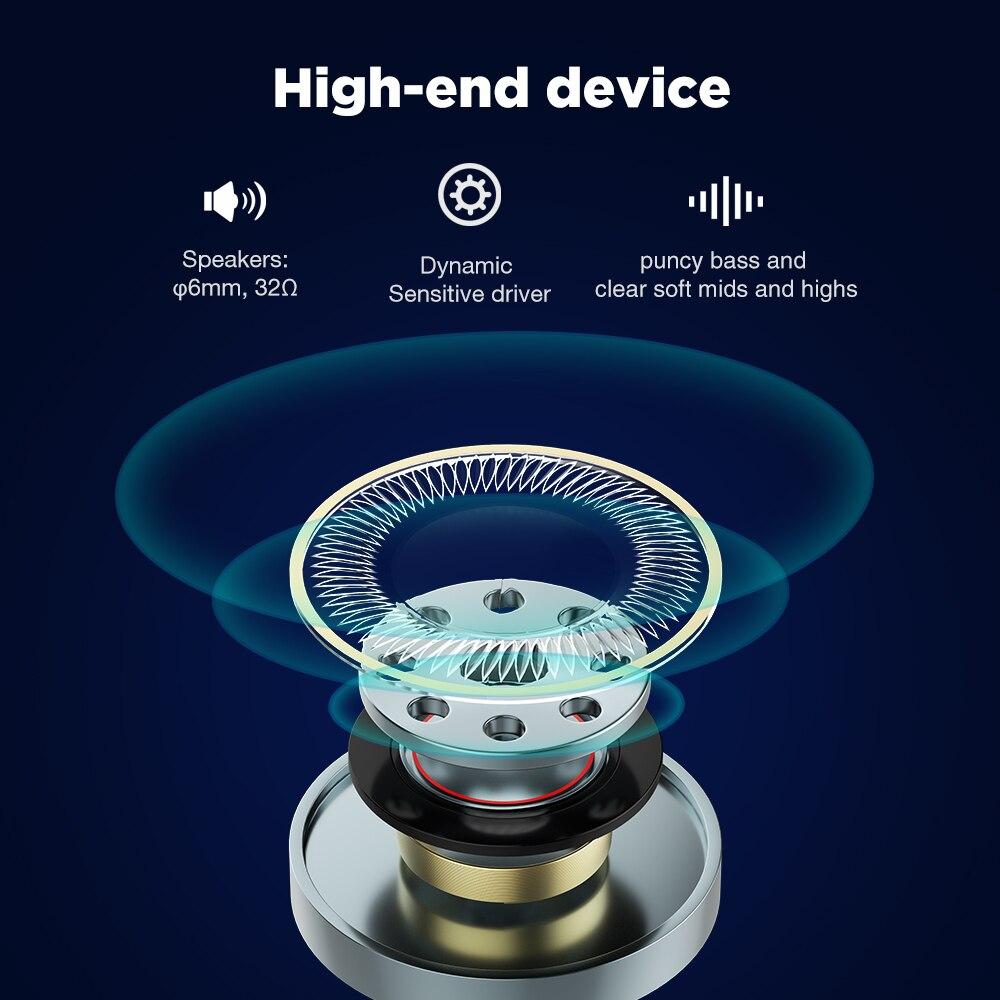 Image 4 - Cowin KY07 TWS True Wireless Earphones With Bluetooth 5.0 Sports  Waterproof Earphones 3D Stereo Earbuds Auto Pairing HeadsetBluetooth  Earphones