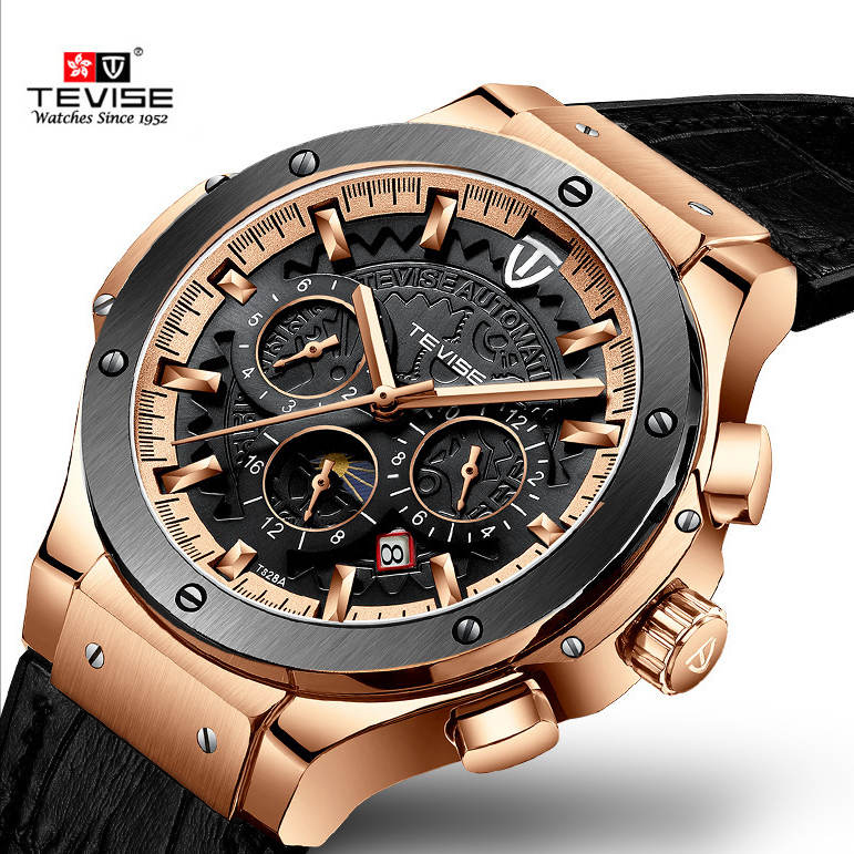 Watches, Casual, Fashion, Rose, Waterproof, Simple