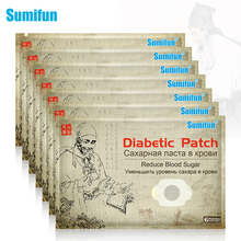 42Pcs/7bags Sumifun Diabetic Patch Natural Herbs Diabetes Plaster Stabilizes Blood Sugar Balance Glucose Content D2467