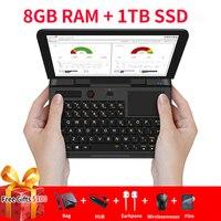 GPD микропк микро ПК Мини ПК компьютер Windows 10 6 Гб RAM 128 Гб SSD WIFI Bluetooth карманный мини портативный ПК ноутбук
