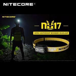 Image 2 - Micro Usb Oplaadbare Nitecore NU17 Triple Output Ultra Lichtgewicht Beginner Koplamp Ingebouwde Li Ion Batterij